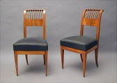 2 Chairs, Biedermeier