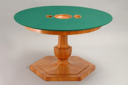 Card- & Diningtable, Viennese Cabinet Maker