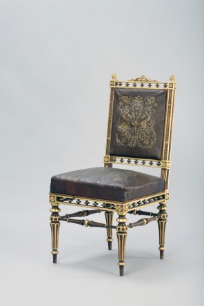 Chair of the palace of Archduke Wilhelm, Theophil Frh. Von Hansen