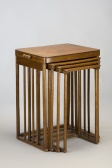Set of nesting tables, Josef Hoffmann