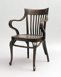 Armchair 'Cafe Capua', Adolf Loos
