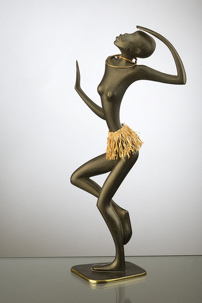 Black Dancer with Neck Rings, Franz Hagenauer